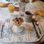Breakfast at the Shepherd's. Yummy!