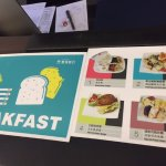 Breakfast menu (will rotate)