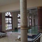 Scorcio della piscina termale