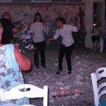 The Boathouse on Kamari Beach - dancing & smashing plates the Greek way!