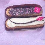 Éclairs : chocolat-framboise / vanille
