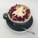Rose Latte - tastes so good and is so good for you.