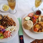 Pad Thai and Chicken Curry