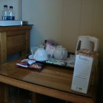 Excellent tea etc in room facilities