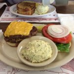 1 pound burger