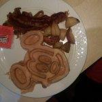 Mickey Mouse Head Waffle
