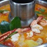 Tom Yum Shrimp Hot Pot