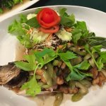 Deep Fried Snapper with Celery