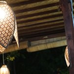 Lighting, the dining room