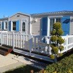 Mobil-home résidentiel à l'année sur camping 3 étoiles à Merlimont-Plage, Hauts-de-France, 62