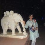 Вот такой замечательный слоник на территории центра
