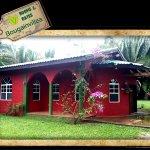 Exterior of The Bougainvillea Cabin