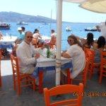 Lunch at Katina's with Paul & Sylvia