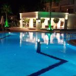 Swimming pool of Molos Bay Hotel