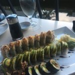 Manny roll, Dragon roll and Spider roll.