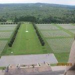 vue du sommet sur le cimetière