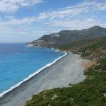 la plage de Nonza