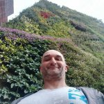pared verde de  caixa forum ! un  clasico  de madrid