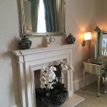 Fire place in Old Hall Suite
