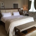 Superking size bed in Old Hall Suite