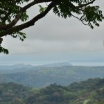 On our drive to Monteverde, you could see the Pacific Ocean. Such a beautiful view.