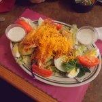 Fantastic salad at The Seafood Sylvania Ohio