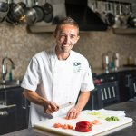 Learn new techniques with Chef Charlie in our Cooking Studio