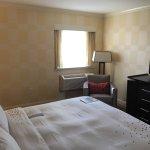 Bedroom of suite