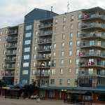 Winkler Apartments on Canada Day