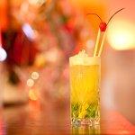 Cocktail mit Melonen Geschmack