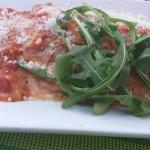 Ottawa's Little Italy La Roma Restaurant - lasagna.