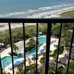 Balcony view room 1026