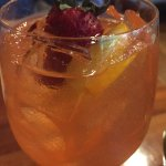 The Peach Sangria was light and fruity! If you don't like peaches, do not order. Yum!!!