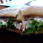 Seafood bunwich