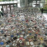 Lobby Book Installation from above