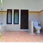 Balinese Bungalow open outdoor bathroom