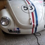 Herbie #53--sit in Herbie and enjoy your meal
