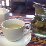 ウェルカムドリンクのコカ茶