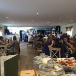 Busy day in our Spikes Bar/Cafe