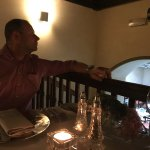 Romantic, cosy upstairs restaurant