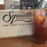 Bloody Mary at Squatters Pub, SLC Airport