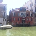 View of the hotel from Grand Canal