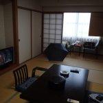 和室しかない旧式のホテルです