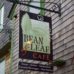 Bean & Leaf exterior sign