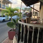 Street side table