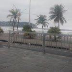 Área do hotel maravilhosa , vista para o mar !