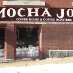 Exterior photo of Mocha Joe's in Brattleboro, Vermont.