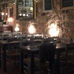 Cosy indoor dining area