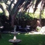patio attenant à la terrasse