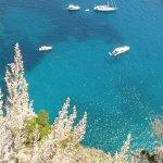 Panorama mare di Capri